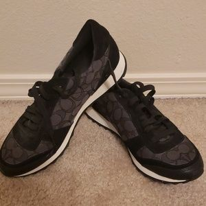 Coach sneakers never used!